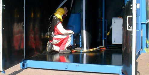 CBI Equipment supplier of containerised and portable blast rooms
