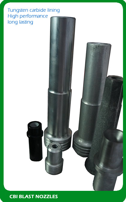 High quality blasting nozzles from CBI Equipment UK