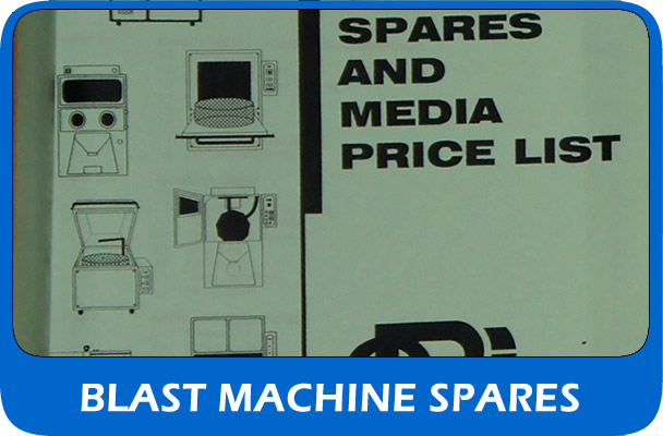 UK supplier of shot blast machine spares and parts
