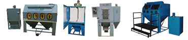 Used and refurbished shot blasting machines