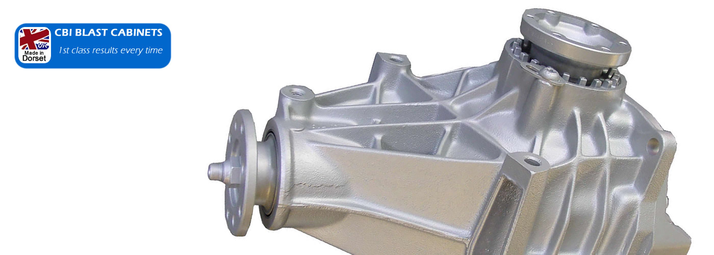 Top quality shot blasting for rare and high performance car parts