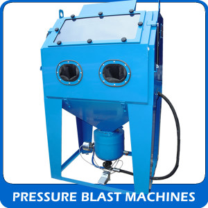 View our Pressure blast machines