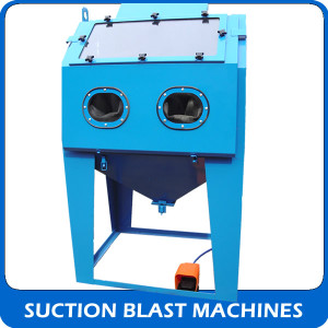 View our Suction blast machines