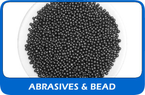 View our abrasives & bead blast media