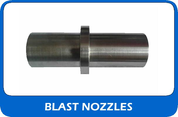 Shot blast nozzles from CBI equipment UK