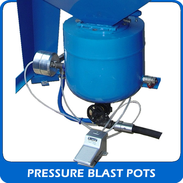 View our pressure blast pots