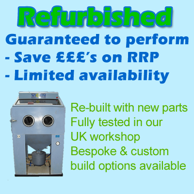refurbished SHOT BLASTING MACHINES