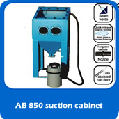 slide suction cabinet AB850 850mm