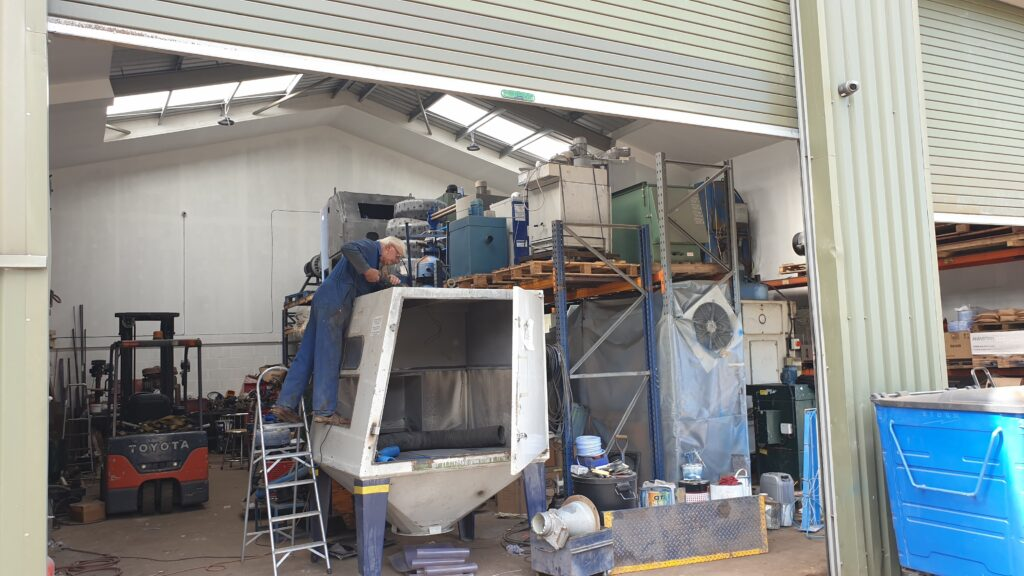 CBI Equipment also provide fully refurbished blast cabinets and machines