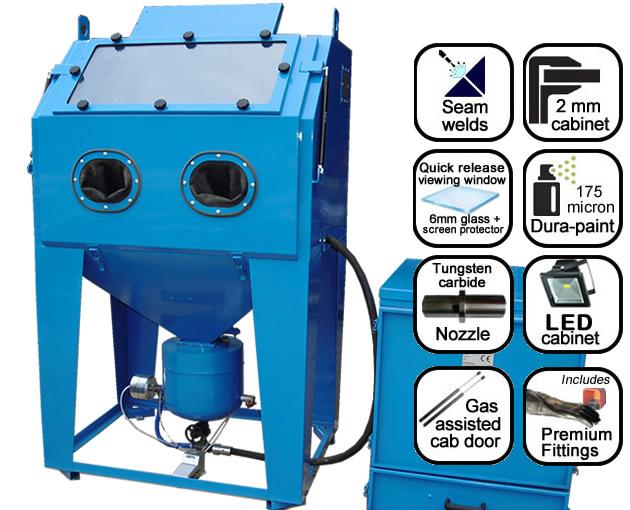 AB1000 1m pressure blast cabinet