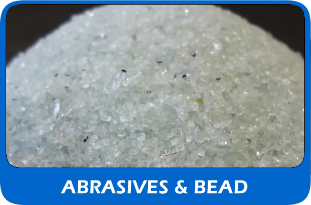 Shot blasting abrasive and bead UK supplier