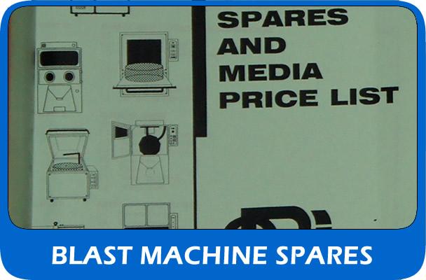 UK supplier of shot blast machine spares and parts