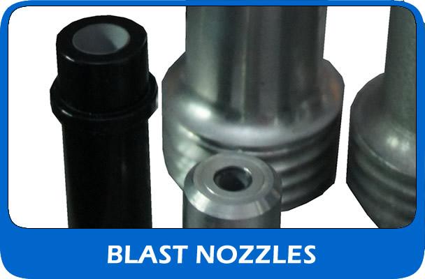 Shot blasting Nozzles UK supplier