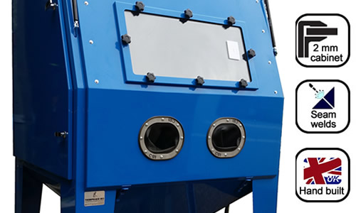 UK supplier suction blast cabinets