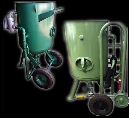 Shot blast pressure pots  UK supplier