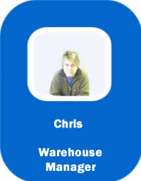 CBI staff chris warehouse manager