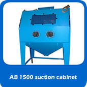 slide suction AB1500 suction cabinet